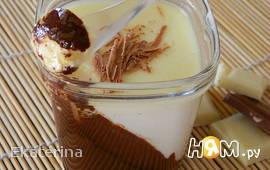 Йогурт с двойным шоколадом в йогуртнице
