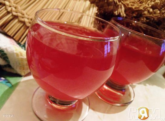Напиток из калины