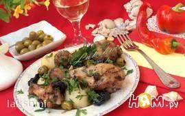 "Курица по-испански ""Марбелья"""