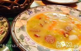 Суп картофельный с венской колбаской