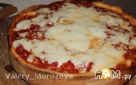 Чикагская глубокая пицца