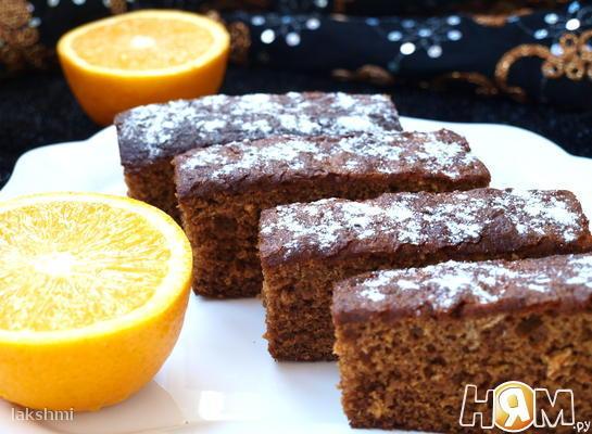 Леках - еврейский медовый пирог