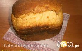Хлеб с сыром и сырокопчёной колбасой