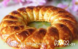 Пирог из плавленых сырков