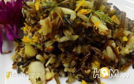 Дикий рис с миндалем