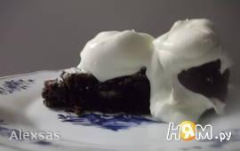 Шокодадный торт (мягкий). Kladdkaka.
