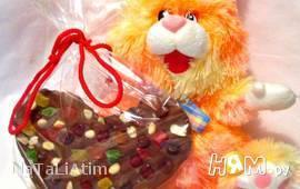 Шоколадный подарок своими руками