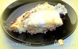 """Быстрый пирог на сковороде """"Мимоза"""""""