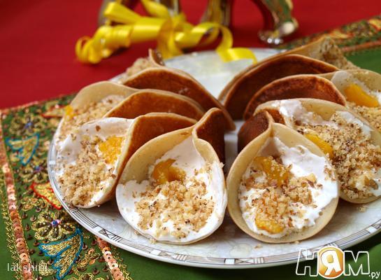 Рецепт Катаеф - арабские блинчики