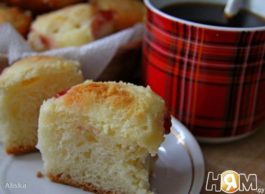 Рецепт Пирог со сливочным творожным сыром (чизкейк-хлеб)