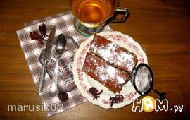 Постный монастырский кофейный пирог