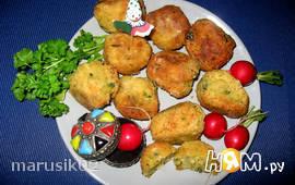 Фалафель из нута и булгура (постное блюдо)