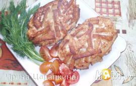 Куриные котлетки в хлебной панировке