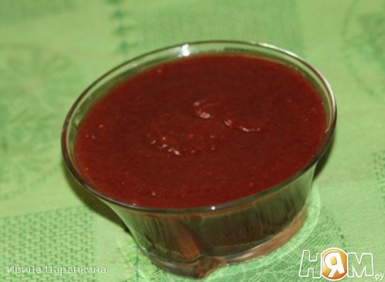 Рецепт Сливовый соус к мясу