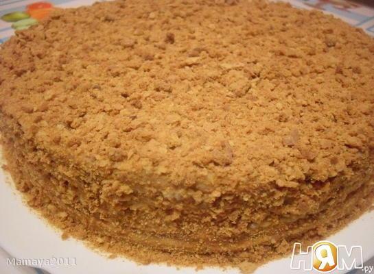 """Торт """"Медовик"""" с заварным кремом"""
