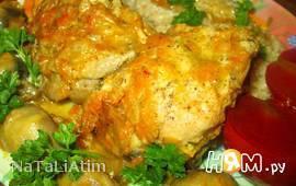 Курица с овощами (в мультиварке)