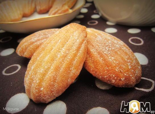 """Печенье """"Мадлен"""" ванильное"""