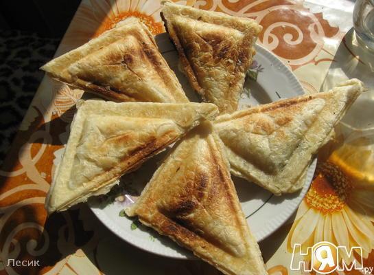 Рецепт Слойки из тостера