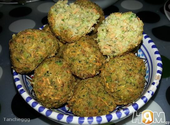 Овощные шарики с сыром