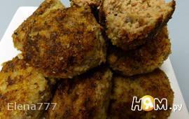 Котлеты мясные с грибами