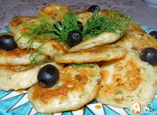 Рецепт Ленивые беляши с грибами и луком