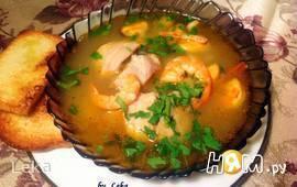 """Рыбный суп """"Буйабес"""" или суп бедного рыбака"""