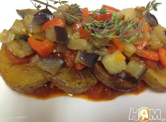 Tombet-Картофель с овощным соусом