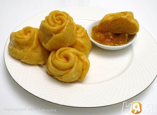 Рецепт Китайские паровые булочки в мультиварке