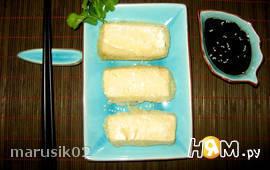 Темпура с тофу (постное блюдо)