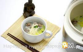 Китайский суп в мультиварке