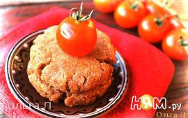 Пряные гречнево - томатные биточки