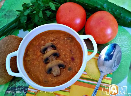 """Турецкий суп """"Мерджимек чорбасы"""""""