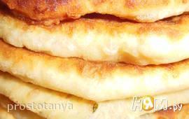 Очень сырные лепёшки