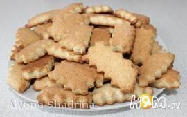 Хрустящее постное печенье на рассоле