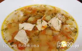 "Суп ""Казацкий"" с чесноком"