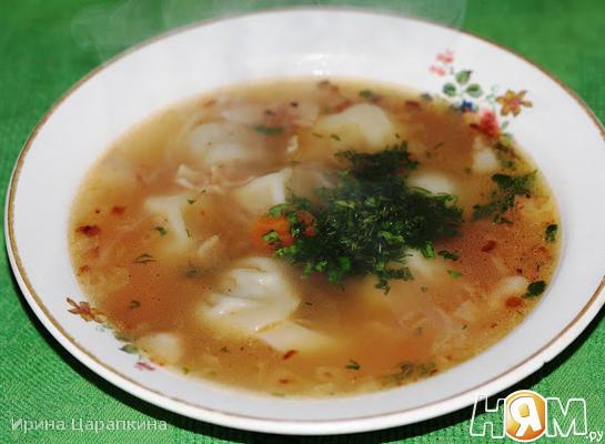 Рецепт Суп с пельменями