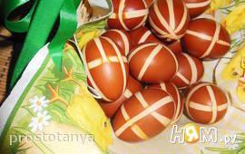 Яйца к празднику Пасхи