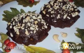 Шоколадные кексы с кабачком