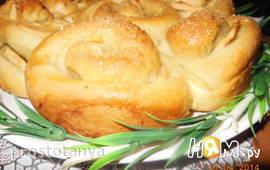 Пирог с яблоками,черносливом,маком  и орехами