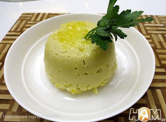 – паровое суфле из трески (150 гр рецепт