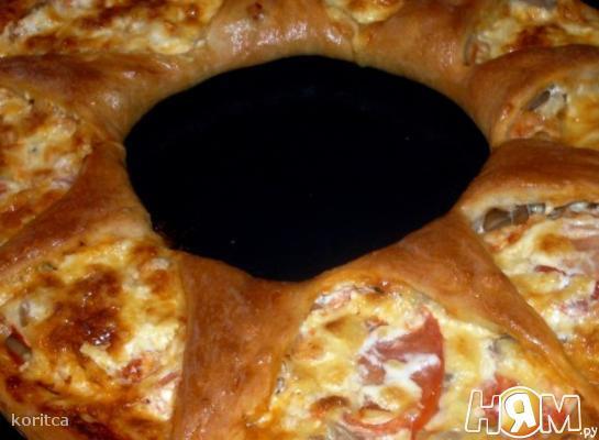 Пицца-венок