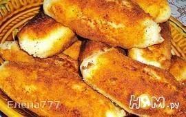 """Картофельные рулетики с сыром и """"грибами"""""""