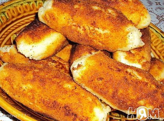 """Рецепт Картофельные рулетики с сыром и """"грибами"""""""