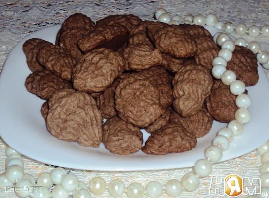 Рецепт Шоколадные ракушки
