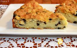 Сырный пирог с сельдереем и маслинами