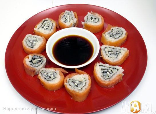 Роллы (рис для суши и роллов в мультиварке)