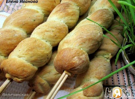 """Постный хлеб """"Завитки"""""""
