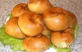 Слоистые пирожки с картофелем