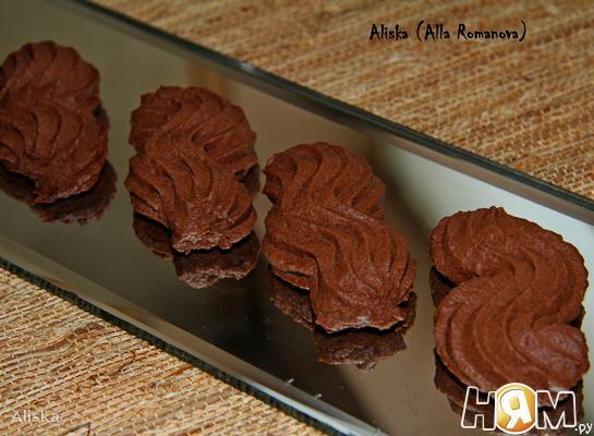Рецепт Венское шоколадное сабле