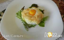 Деревенские яйца на пуховом гнезде